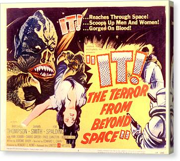 It The Terror From Beyond Space, 1958 Canvas Print by Everett