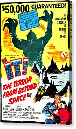 It The Terror From Beyond Space, Ray Canvas Print by Everett