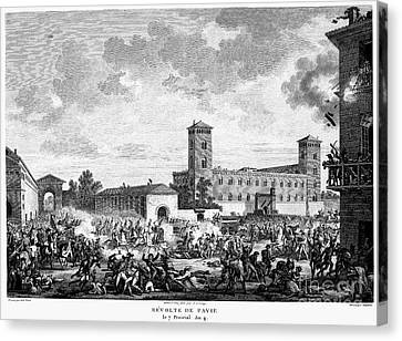 Italian Campaign, 1796 Canvas Print by Granger
