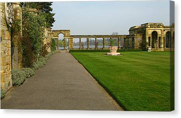 Italian Gardens Canvas Print by Maria Joy