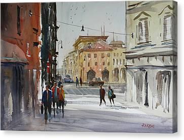 Italian Impressions 2 Canvas Print by Ryan Radke