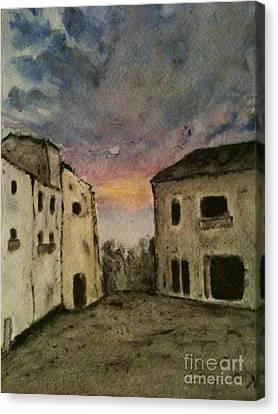 Italian Landscape Canvas Print by Nicla Rossini