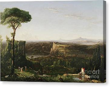 Italian Scene Composition Canvas Print