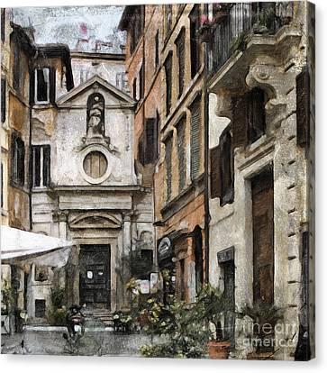 Italy Arty Canvas Print by Lutz Baar