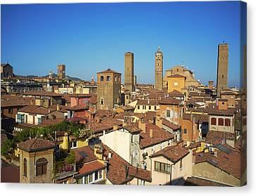 Italy, Emilia-romagna, Bologna, Cityscape Canvas Print by Bruno Morandi