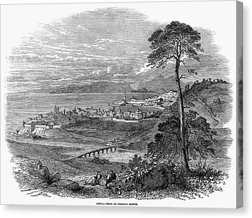 Italy: Genoa, 1849 Canvas Print by Granger