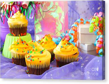 It's A Party Canvas Print by Darren Fisher