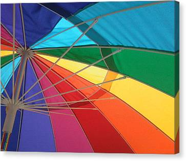 Canvas Print featuring the photograph It's A Rainbow by David Pantuso