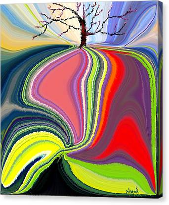 Its A Tree's Life Canvas Print by Renate Nadi Wesley