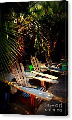 Its Margarita Time In Paradise Canvas Print by Susanne Van Hulst