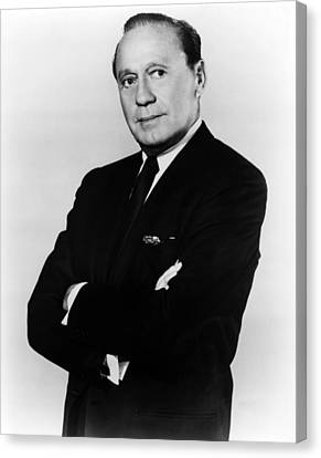 Jack Benny, Circa 1950s Canvas Print by Everett