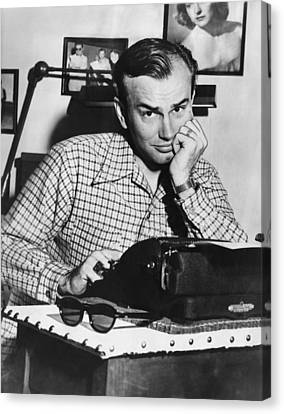 Jack Paar 1918-2004, American Radio Canvas Print by Everett