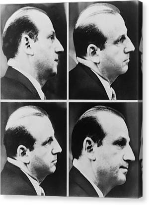 Jack Ruby 1911-1967 During His Trial Canvas Print by Everett