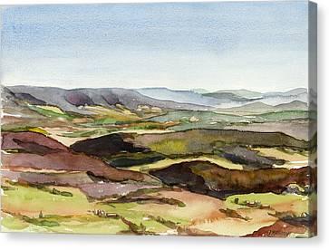 Jacks Mountain View Canvas Print by Jeff Mathison