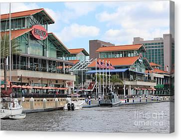 Jacksonville Florida Landing Canvas Print