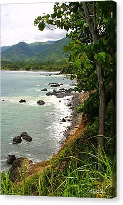 Jaco Canvas Print - Jaco Pacific Coast Costa Rica by Michelle Wiarda-Constantine