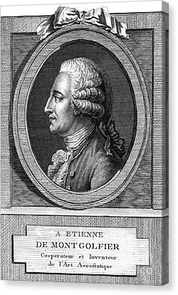 Jacques-�tienne Montgolfier, French Canvas Print by Photo Researchers