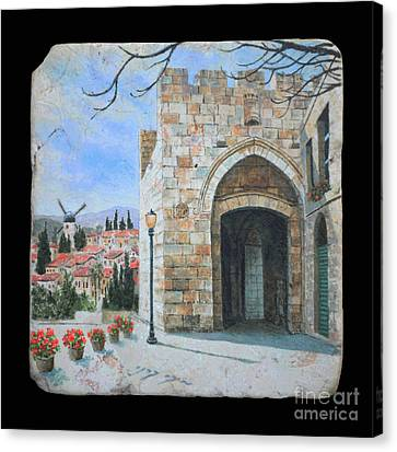 Jaffa Gate Canvas Print