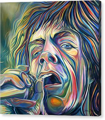 Jagger Canvas Print by Redlime Art