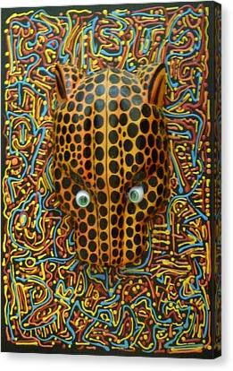 Jaguarhead Canvas Print