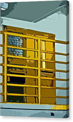 Jail Cell Canvas Print by Gwyn Newcombe