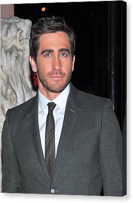 Jake Gyllenhaal At Arrivals For Finca Canvas Print by Everett