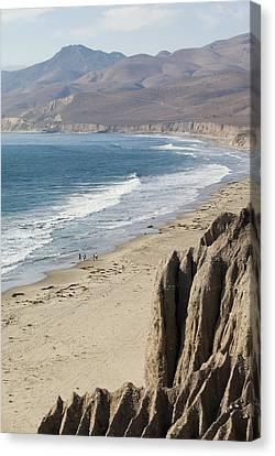 Jalama Beach On The Gaviota Coast Canvas Print by Rich Reid