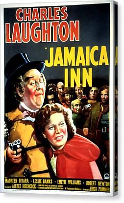 Jamaica Inn, Charles Laughton, Maureen Canvas Print by Everett