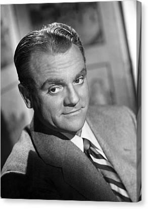 James Cagney, Portrait, 1940s Canvas Print by Everett
