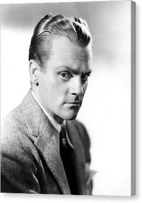 James Cagney, Portrait Canvas Print by Everett
