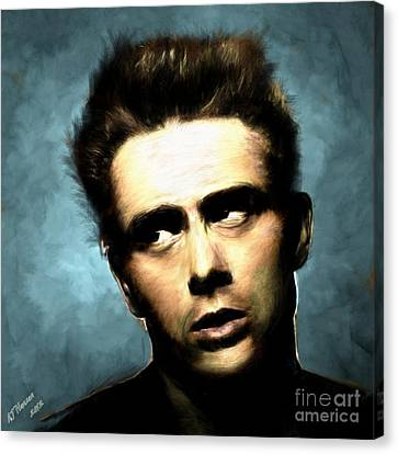 James Dean Canvas Print by Arne Hansen