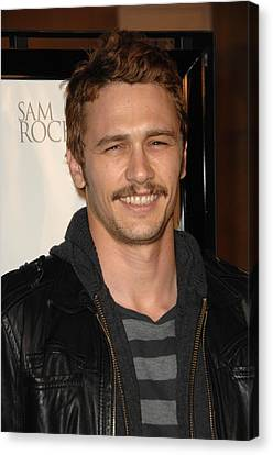 James Franco At Arrivals For L.a Canvas Print by Everett