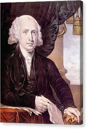 James Madison 1751-1836, U.s. President Canvas Print by Everett