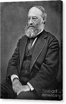 James Prescott Joule, English Physicist Canvas Print by Science Source