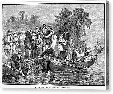 Jamestown: Women Canvas Print by Granger