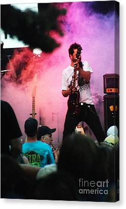Canvas Print featuring the photograph Jammin by Gary Brandes