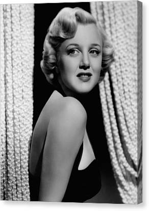 Jan Sterling, 1940s Canvas Print by Everett