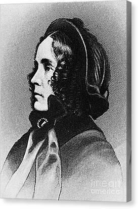 Jane Pierce (1806-1863) Canvas Print by Granger
