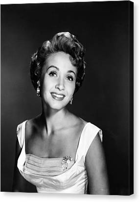 Jane Powell, Ca. 1950s Canvas Print by Everett