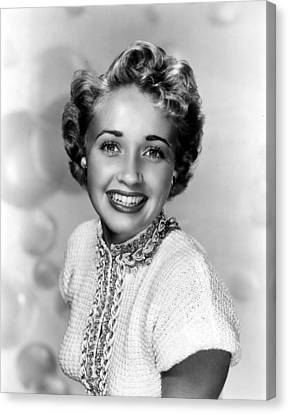 Jane Powell, Mgm, 1951 Canvas Print by Everett
