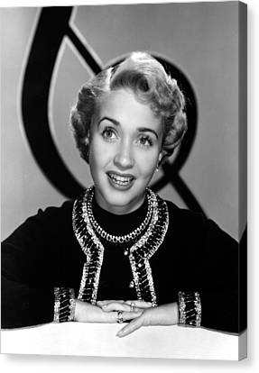 Jane Powell, Mgm, Early 1950s Canvas Print by Everett