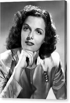 Jane Russell, Portrait Circa 1947 Canvas Print by Everett