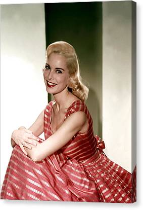Janet Leigh In The 1950s Canvas Print by Everett