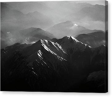 Japanese Alps Canvas Print by José Rentería Cobos photography