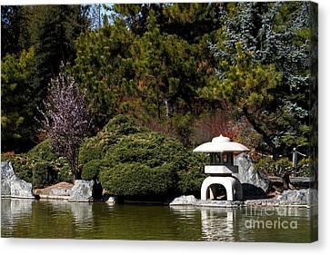 Japanese Friendship Garden . San Jose California . 7d12780 Canvas Print by Wingsdomain Art and Photography