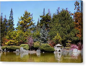 Japanese Friendship Garden . San Jose California . 7d12781 Canvas Print by Wingsdomain Art and Photography