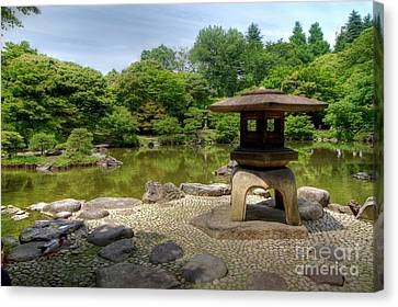 Japanese Garden -2 Canvas Print