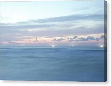Clouds Over Sea Canvas Print - Japanese Sea by Kaneko Ryo