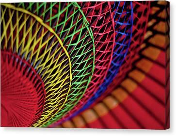 Japanese Umbrella Canvas Print by Photo by Sue Ann Simon