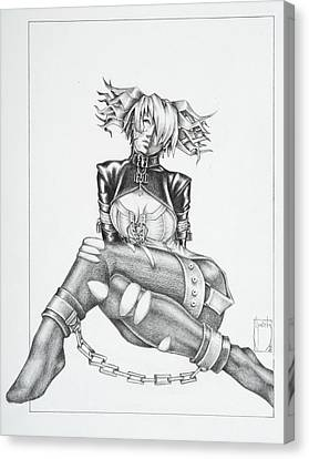 Jasmin - The Demented Canvas Print by Sean Smith